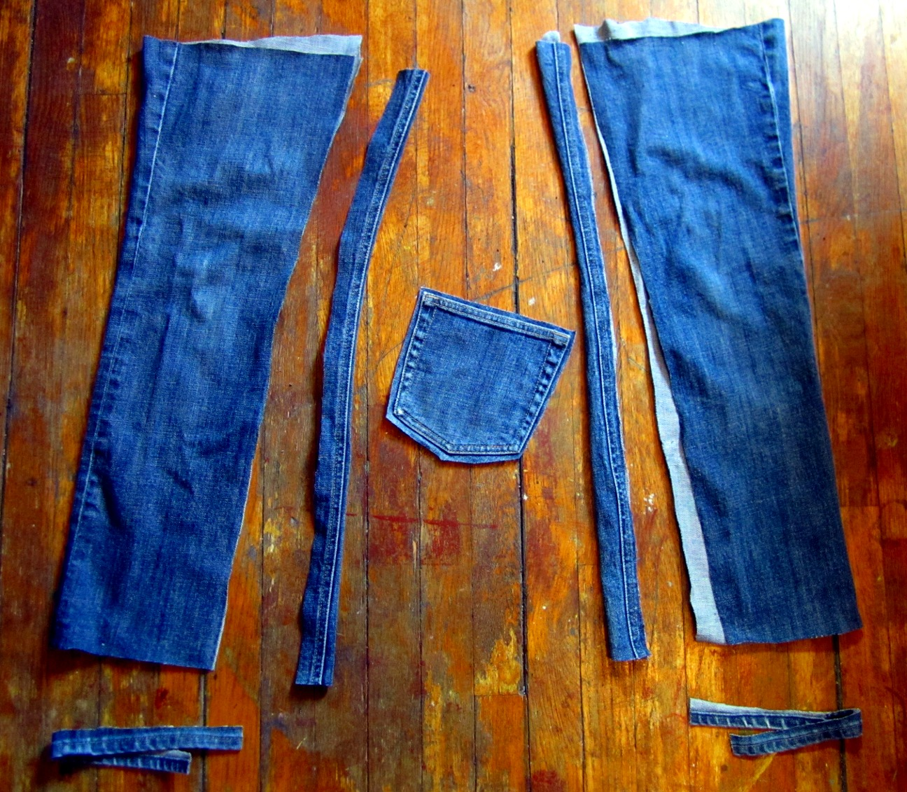 Make A Backpack From An Old Pair Of Jeans Amie Scott