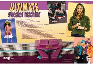 Bond-Knitting-Machine