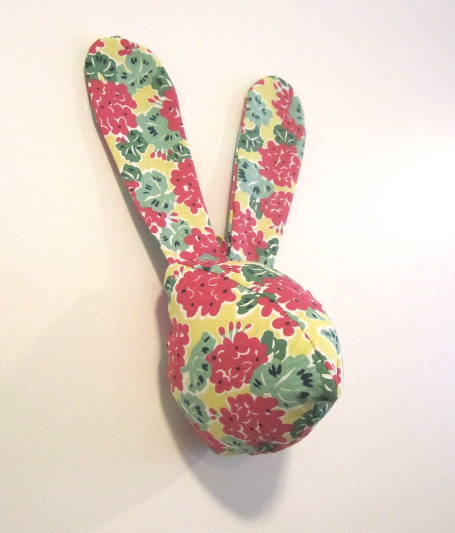 Bunny Head Sewing Pattern and Instructions | Amie Scott