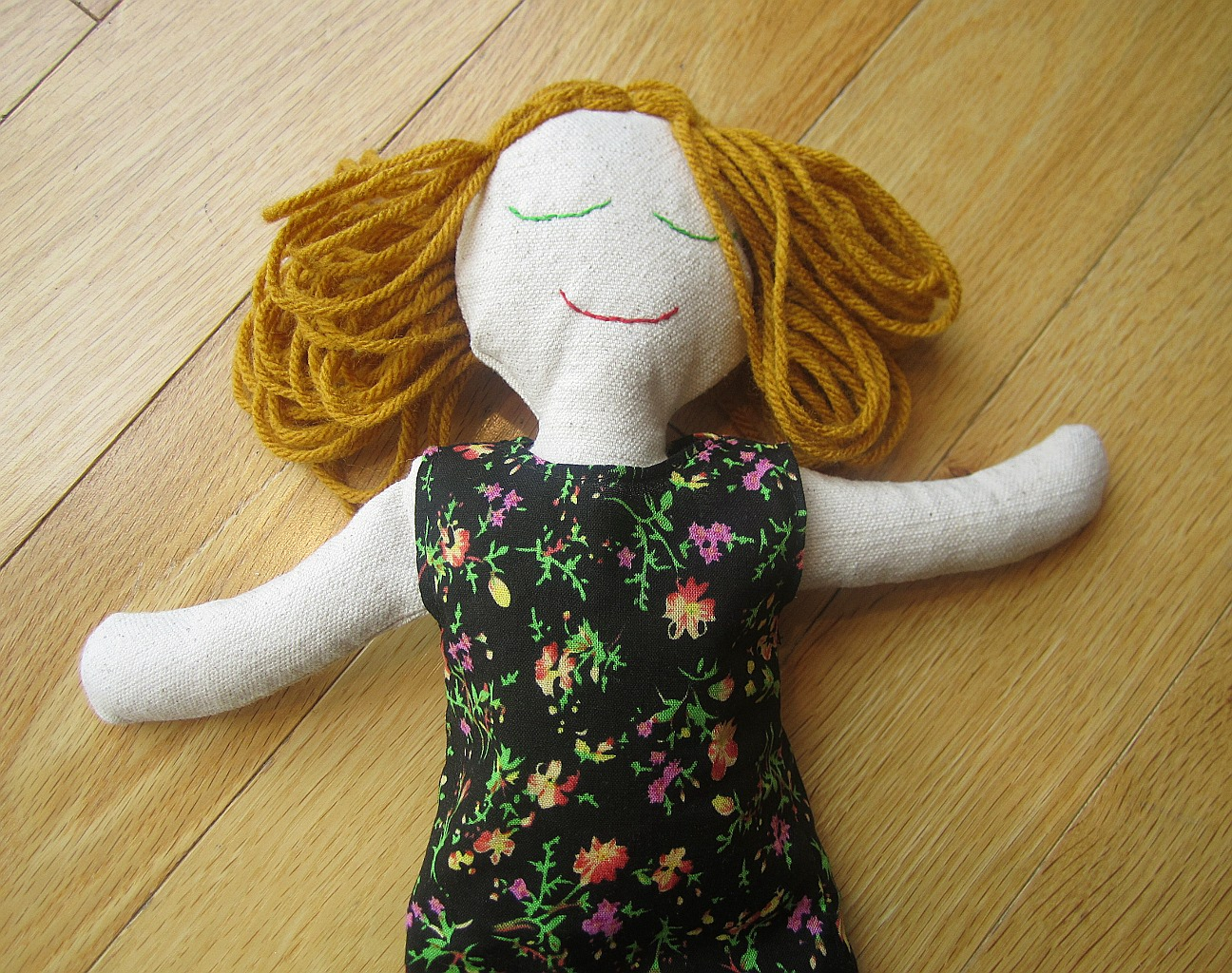 Rag Doll Free Sewing Pattern and Instructions | Amie Scott