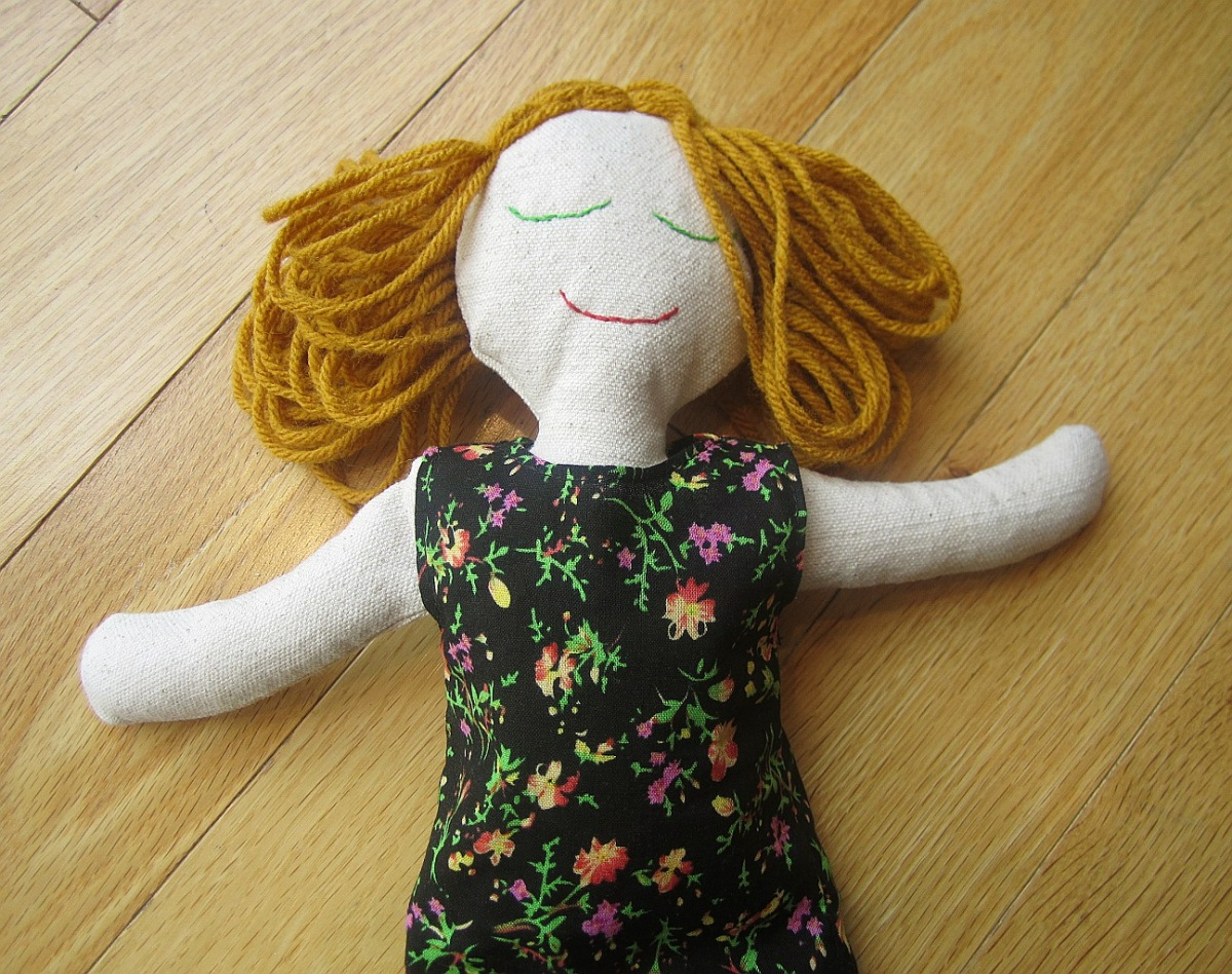 Rag Doll Free Sewing Pattern And Instructions