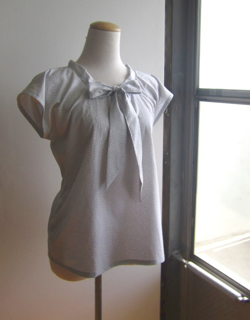 Bow Tie Blouse Sewing Pattern and Instructions | Amie Scott