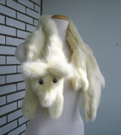 Faux Fur Fox Or Mink Stole Wrap Sewing Pattern Instructions Amie Scott